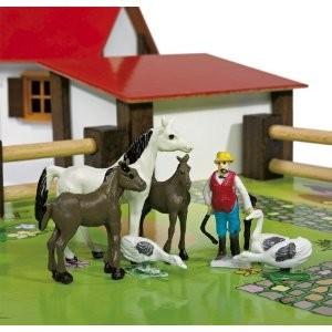 Eichhorn 100004304 - kleiner Bauernhof, 21-teilig - zum Schließen ins Bild klicken