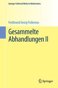 Gesammelte Abhandlungen II