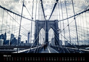 New York (Tischkalender 2016 DIN A5 quer)