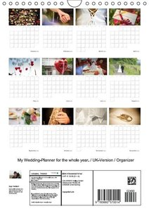 My Wedding-Planner for the whole year. / UK-Version / Organizer