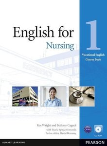 Vocational English Level 1 English for Nursing Coursebook (with