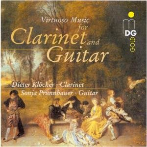 Virtuose Musik Für Klarinette & Gitarre
