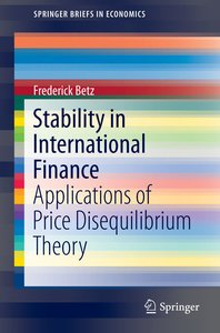 Stability in International Finance