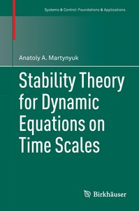 Stability Theory for Dynamic Equations on time Scale