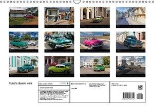 Cuba\'s classic cars (Wall Calendar 2015 DIN A3 Landscape)