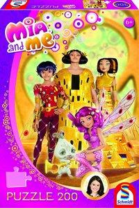 Herrscher von Centopia, 200 Teile. Kinderpuzzle Mia & Me