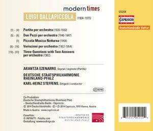 Modern Times (Partita/Due Pezzi/+)