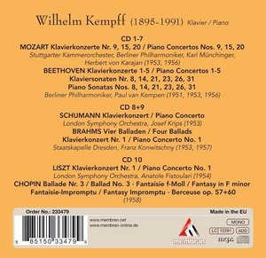 Wilhelm Kempff: Poet am Klavier