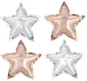 Hänger Rising Star, 4-teiliges Set, 2 sortiert, kupfer und silbe