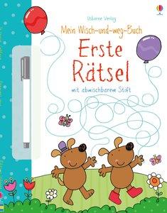 Mein Wisch-und-weg-Buch: Erste Rätsel
