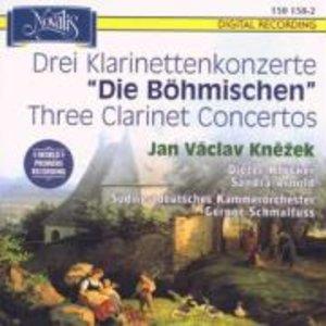 """Drei Klarinettenkonzerte """"Die Böhmischen"""""""
