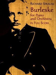 Burleske for Piano and Orchestra in Full Score