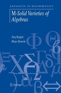 M-Solid Varieties of Algebras
