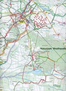 Naturpark Westhavelland Nord, Naturpark Westhavelland Süd 1 : 50