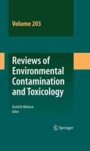 Reviews of Environmental Contamination and Toxicology Vol 203