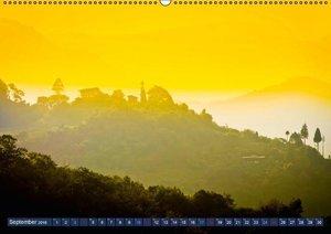 Ansichten aus Bhutan: Gipfel, Glaube, Glück (Wandkalender 2016 D
