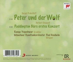 Prokofieff: Peter und der Wolf / Chappell: Paddington Bärs erste