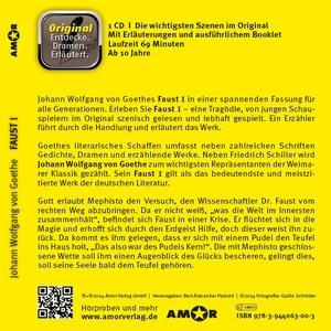 Faust I - Hörspiel. Die wichtigsten Szenen im Original. Entdecke