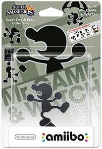 amiibo Super Smash Bros. - Mr. Game&Watch - No. 45