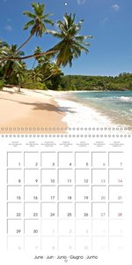 dream beaches - Seychelles (Wall Calendar 2015 300 × 300 mm Squa