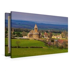Premium Textil-Leinwand 90 cm x 60 cm quer La Chapelle-sous-Bran