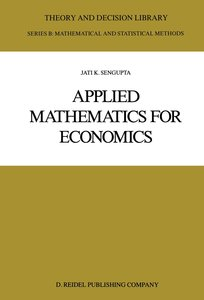 Applied Mathematics for Economics