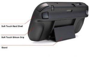 Venom - Play & Grip - Hartschale inkl. Standfuß für Wii U