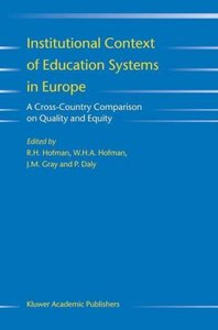 Institutional Context of Education Systems in Europe