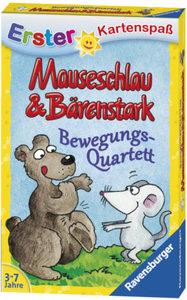 Ravensburger 20325 - Mauseschlau und Bärenstark, Quartett