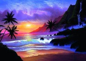 Jon Rattenburry, Paradiesische Bucht. Puzzle 1000 Teile