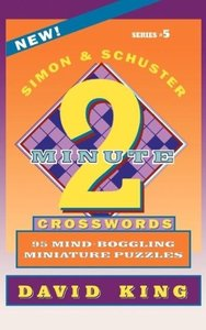 Simon & Schuster Two-Minute Crosswords, Volume 5