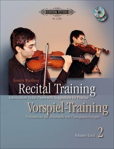 Recital Training Vol. 2 with 2 CDs / Vorspieltraining Band 2 mit