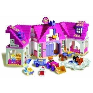 BIG 57025 - Hello Kitty: Play BIG Bloxx Bauernhof