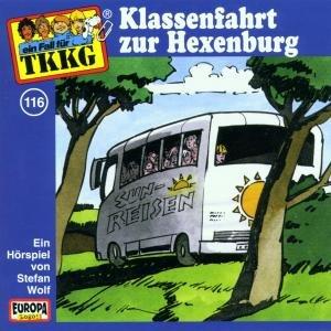 TKKG 116. Klassenfahrt zur Hexenburg. CD