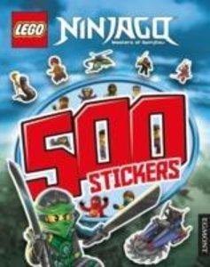 LEGO NINJAGO STICKER BOOK