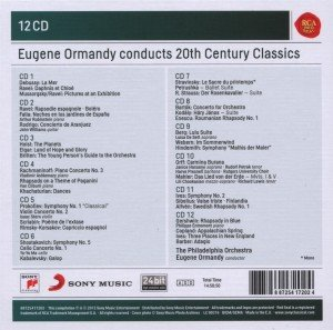 Eugene Ormandy conducts 20th Century Classics