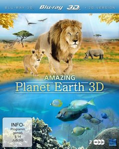 Amazing Planet Earth 3D - Entdeckungsreise unserer Erde