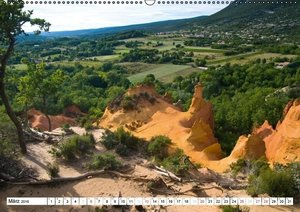 Die Provence (Wandkalender 2016 DIN A2 quer)