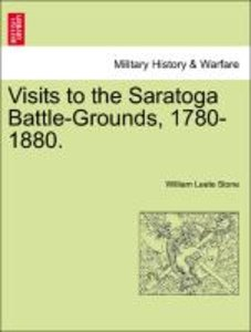 Visits to the Saratoga Battle-Grounds, 1780-1880.