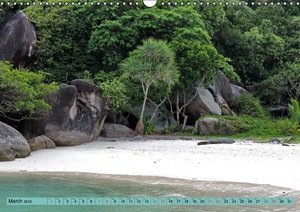 SIMILAN ISLANDS (Wall Calendar 2015 DIN A3 Landscape)