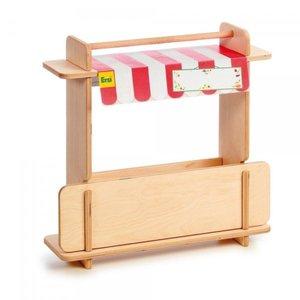 Erzi 10062 - Shop Mobilo, kleiner Kaufladen aus Holz