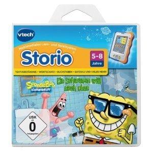 VTech 80-281404 - Storio Lernspiel: SpongeBob Schwammkopf
