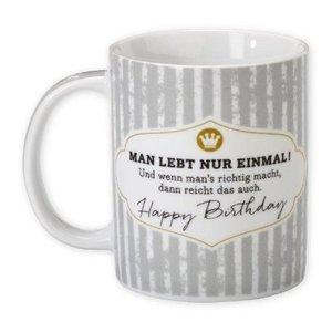 """HAPPYlife Tasse """"Happy Birthday"""""""