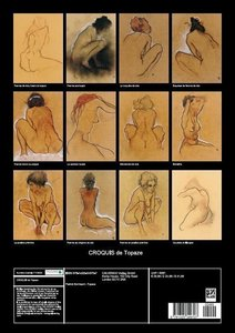 CROQUIS de Topaze (Livre poster DIN A3 vertical)