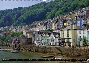 Cornwall und Wales (Wandkalender 2017 DIN A2 quer)