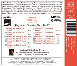 Klaviersonaten 16-27