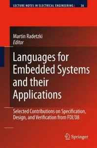 Languages for Embedded Systems and their Applications