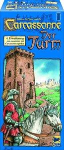 Carcassonne. Der Turm. Die 4. Erweiterung