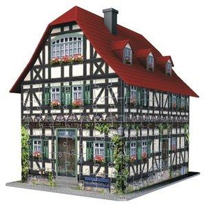 Fachwerkhaus. 3D Puzzle-Bauwerke 216 Teile