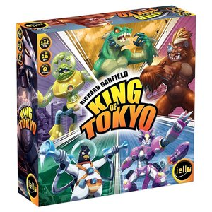 Iello - KING OF TOKYO New Edition Brettspiel, deutsche Version